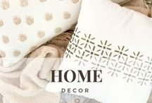 Home Decor / Our favorite cozy, classy & chic home decor