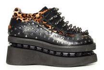 Footwear / Unique Footwear for Men & Women!   #cryoflesh #demonia #hadesfootwear #newrock #steampunkshoes #steampunkboots #gothicboots #gothshoes #ravershoes #heels #sexyheels #platforms #stageheels #highfashionfootwear #uniquefootwear