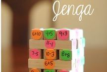 Math | Hands on Learning / Math games, projects, and activities for preschool through elementary.