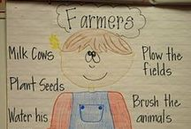 Farm Animals / All crafts, projects, units by educators relating to farm themes