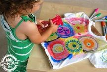 Summer Activities / Crafts and ways to have fun during summer break. #summer #kids #family #DIY #art