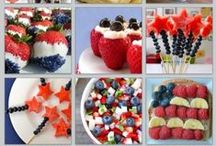 July 4th / Healthy Recipes to Celebrate July 4th.  #recipes #july4 #healthy #cleaneating