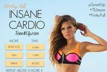 Tone it Up Routines / Some of my favorite routines from Tone it Up.  #HIIT #Cardio #fitness #exercise #toneitup #arms #abs #booty #legs #yoga #printable