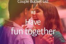 Couple bucket list ❣