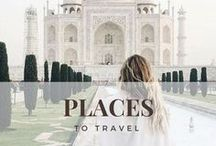 Places to travel.