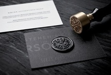 ******* BUSINESS CARDS ******* / LESS IS MORE