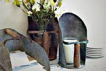 Scoop 'em up! / Vintage scoops and ladles
