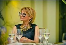 Evelina Khromtchenko / Evelina Khromtchenko's wearing G|R Jewelry