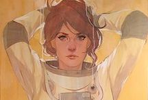 Art - Phil Noto / The art of Phil Noto