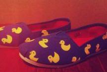 DIY декор обуви / немного фантазии и желания и вы обладатель оригинальной обуви