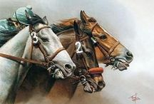 Four legs in art / by Christina Blitzen