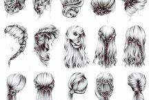 H A I R / HAIR • COIFFURES • ACCESSOIRES •••