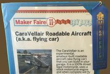 Maker Faire 2016 in San Mateo / Thousands of attendees got to see and learn how to build their own roadable aircraft like the CaravellAir®. #makerfaire