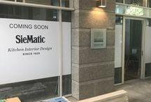 SieMatic by Dross & Schaffer / Wir begleiten die Entstehung des neuen SieMatic Küchenstudios im Almeida Palast in München