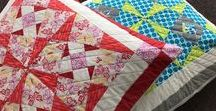 PDF Quilt Patterns / Check out the range of PDF quilt patterns designed by No3quiltstudio and make one of your own.