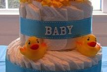 Baby Shower / Get inspired with cute ideas to prepare a wonderful baby shower party. / by Banarsi Designs