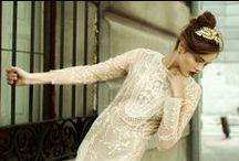 Novias / Diseños de vestidos de novia de ayer y hoy #wedding #dresses #trends #clothes