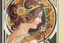 Mucha/ Art nouveau