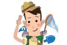 Leren en beleven / Kom je mee op ontdekking in de Scalluvia-bossen?