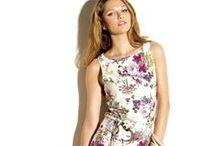 Estampados tropicales / Estampados coloridos, florales y tropicales para esta primavera verano 2014