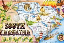 South Carolina   I LIVE HERE! / by Rebecca