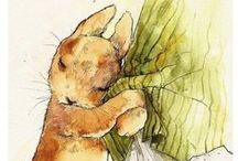 dessin Beatrix Potter
