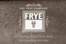 Frye / Founded in 1863, Frye is committed to creating iconic leather goods, using the best materials, craftsmanship and design. Recognized as an original American heritage brand, what began more than 153 years ago, endures today. Worn by the courageous and cool, Frye continues to be recognized for timeless style and unparalleled quality.