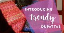 Dupatta / Explore a colourful range of trendy Dupattas online!