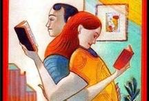 """Illustrateurs - livres jeunesse / Des illustrations - mes avis sont maintenant sur le tableau """"littérature jeunesse (mes avis)"""" / by Vanessa Vanouk"""