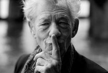 Sir Ian McKellen / The great Ian McKellen, one of the most beautiful voices in the England language.