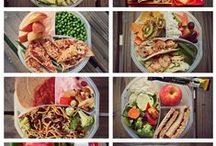 Healthy Lunch Ideas / This is a collection of Healthy Lunch Ideas I'd like to try