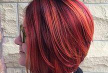 Red & Violet Hair
