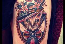 tatoos animales