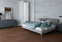 Bedroom / Choose the warmth of a wood flooring and let your bedroom become the center of your home.