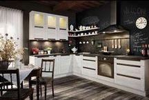 KAM - Olivia / Linia mebli kuchennych KAM dla wszystkich, którzy nie lubią wystających uchwytów i cenią sobie design. W meblach kuchennych OLIVIA listwy uchwytowe są zintegrowane z frontami mebli.