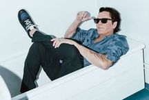 EYTYS x Michael Madsen / Actor Michael Madsen photographed by Kristin-Lee Moolman on location in Stockholm, wearing #Eytys new runner style Jet.