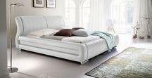 Łóżka tapicerowane - pomysł na przytulną sypialnie