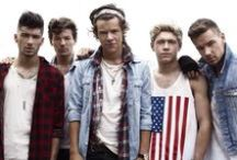 one direction. / Cute as a button, every single one of you / by Savannah Simmons