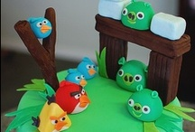Cakes - angry birds