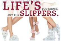Odds & Ends / Fun facts and quotes about slippers.  / by Dearfoams