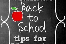Back To School / It's that time of the year again! Schools's almost back in session.