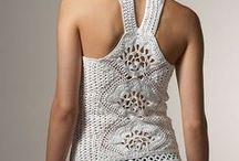 Crochet tops