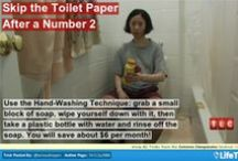 Extreme Cheapskates - Hacks, Tricks and tips / Looking for a way to save a penny on that all but too expensive 2-ply toilet paper? Then you have come to the right place! If not.....then enjoy a good laugh!