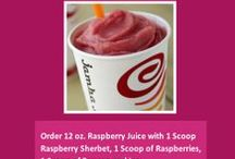 Jamba Juice Secret Menu- Hacks, Tips and Tricks / If you just love Jamba Juice, check out this awesome secret menu. You will be ordering up delicious drinks in no time.