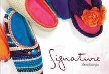 Signature by Dearfoams / Comfort and style just got better with our all-new, premium slipper collection – Signature by Dearfoams Spring 2014 / by Dearfoams