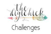 Digichick Digital Scrapbooking Challenges / Monthly digital scrapbooking challenges available in our forums at the Digichick