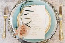 Hochzeitsdekoration / Inspiration für Brautpaare