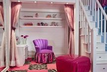 ❤ A teen girl's bedroom❤ / Many different and crateful ways to decorate your bedroom......
