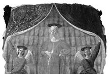 l'Opera / Madonna del Parto  1450-55 Piero della Francesca