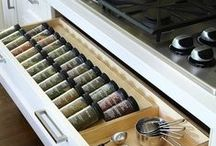 Organisierte Küche - how to organize your kitchen / Amazing ideas to make it better, you can organize your kitchen and find some great ideas on this pinboard. Learn from the others, who already had the best ideas to optimize Storage in small kitchen rooms